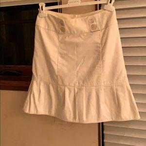 Nanette Lepore cream skirt